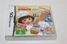 Nintendo DS Dora's Cooking Club Complete Aus Release