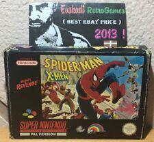 Spider-man X-Men Arcade Revenge- Nintendo SNES (PAL ESPAÑA) SIN MANUAL