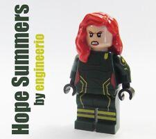 LEGO Custom --- Hope Summers --- Marvel Super heroes X-Men minifigures