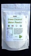 Coconut Water and Pulp 8 oz Freeze Dried Fruit Powder Electrolytes Coconut Oil
