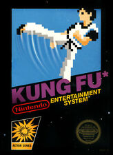 Kung Fu Nintendo NES 1985 Video Game Cartridge only