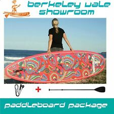 "Stand up paddle board ""GROOVIN BLUZ"" FUNKY SUP' 10 10'6 11'2 Package with Paddle"