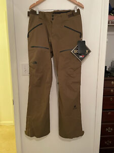 NWT The North Face WOMENS Steep Series Gore-Tex Pants Sz M/Long Olive
