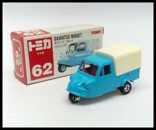 TOMICA #62 DAIHATSU MIDGET TRUCK 1/50 TOMY DIECAST CAR MADE IN JAPAN