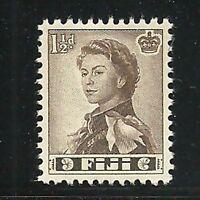 Album Treasures Fiji Scott # 165  1 1/2p Elizabeth Mint NH