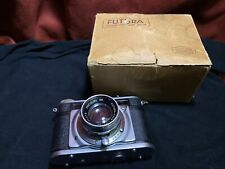 Rare Futura-S Vintage Rangefinder Camera With Evar 2/50 50mm Lens As-is