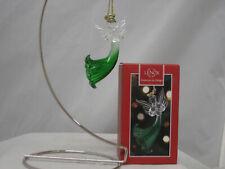"""Lenox Emerald Angel Ornament 3.5"""" 869547 (New In Original Lenox Box)"""