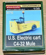 Us Electric cart c4-32 Mule de plus Model en 1/35