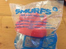 McDonald's Happy Meal Toy 2017  SMURFS  The Lost Village #6 Light Red House