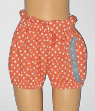 New BABY GAP Size 0-3 Months Girls Orange Stars Bubble Shorts