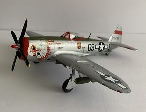 Franklin Mint Airplane Armour Collection 1:48 Scale P-47 THUNDERBOLT USAF W/ Box