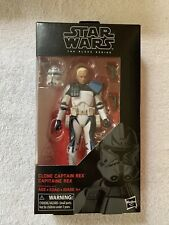 "Star Wars Black Series 6"" CLONE CAPTAIN REX #59 - MIP 100% Complete"