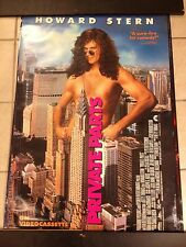 HOWARD STERN PRIVATE PARTS MOVIE POSTER.