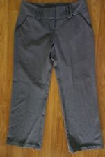 """SEQUIN HEARTS Gray Polyester Blend Dress Pants Size 0 Inseam 25"""""""