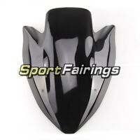 Plastic Bike Windshield Black For Kawasaki 2003 2004 2005 06 Z1000 ABS Windshild