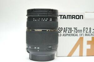 Tamron SP 28-75mm f/2.8 XR Di LD Aspherical Lens for Nikon F mount
