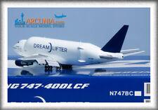 "JC Wings 1:400 Boeing 747-400(LCF) ""Dreamlifter - N747BC"" Flaps Down LH4174A"