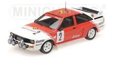 1 18 MINICHAMPS AUDI Quattro A2 Winner Boucles De Spa 1985