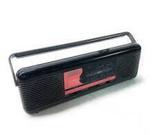 VTG SOUNDESIGN Sports Stereo Mini Boombox AM/FM Black/Pink TESTED WORKING