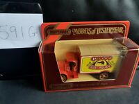 Matchbox Models Of Yesteryear Y-30 1920 Model AC Mack Kiwi Boot Polish