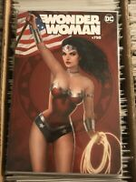 WONDER WOMAN #750 NATHAN SZERDY VARIANT COVER hot artists key patriotic US flag