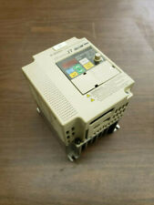 Used Omron CIMR-J7AZB0P7 200-240V 1PH Input 0-240V 3PH 1.9KVA Output