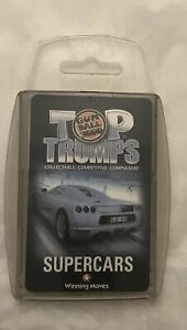 Top Trumps Gum ball 3000 Supercars 2003 (Winning moves)