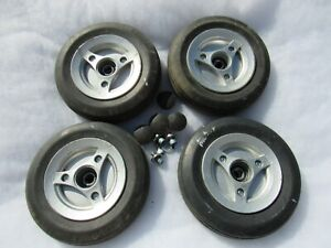 Permobil M300 M 300 Power Chair Caster Wheels as Pictured
