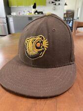 "Fresno Grizzlies Logo Cap Baseball Minor League New Era One Size 7 1/8"""