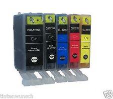 5 Cartouches D'encre Imprimante pour Canon Pixma MX870 MP980 MP550 MP560 IP 3600