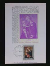 VATICAN MK 1971 MADONNA & JESUS CHRISTUS MAXIMUMKARTE MAXIMUM CARD MC CM c6226