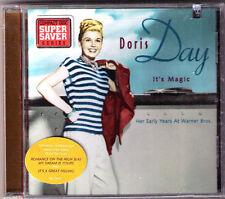 sealed new CD Doris Day It's Magic Her Early Years At Warner Bros. 17 trx Rhino
