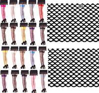 Fully Fashioned Stockings NYLONS Seamed Cuban Heel KEY HOLE WELT Black M//L NEW!