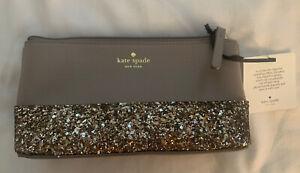 "NWT Kate Spade ""All That Glitters' Cosmetic Bag/Clutch NWT"
