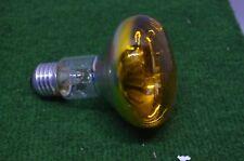 ANCIENNE AMPOULE LAMPE PHILIPS 220 V 60 W COULEUR JAUNE DISCO PAR 38 RAMPE BAL