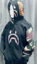 Bape Hoodie Black Camo XS- XL