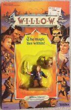 WILLOW THE MAGIC UFGOOD THE HEROIC PROFESSOR w/ BABY - TONKA UNPUNCHED MOC -1988