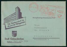 Mayfairstamps Germany 1958 Stadt Gelsenkirchen Buildine Horse Racing Cancel Cove