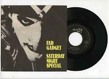 45 RPM SP FAD GADGET SATURDAY NIGHT SPECIAL