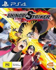 Naruto To Boruto Shinobi Striker Ninja Fighting Game For Sony Playstation 4 PS4