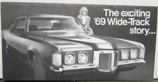 1969 Pontiac Wide-Track Grand Prix Bonneville Catalina LeMans Sale Brochure Orig