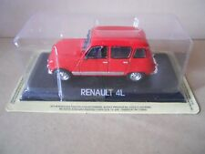 Legendary Cars RENAULT 4  rossa Rara e introvabile 1:43 Die Cast  [MZ]