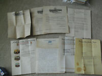 Lot of 14 Vintage 1910s to 30s Advertising Letterhead Ford Boston Police More