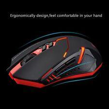 7 Boutons 2400 DPI Souris de Jeu Optical sans fil Gaming Mouse avec Réglable