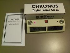 Touch II Chronos Clock Chess White--Chronos Chess Clock - Best clock ever!
