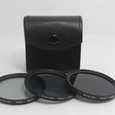 58mm Neutral Density ND2 ND4 ND8 Filter kit For Canon 60D 650D 600D 550D 18-55mm