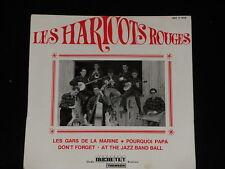 45 tours EP -  LES HARICOTS ROUGES - LES GARS DE LA MARINE - 1964