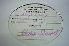 33RPM Rough Luxury Gina Stewart TEST PRESSING RARE JDER1