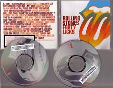 "ROLLING STONES ""Forty Licks"" US 2 CD Promo Set"