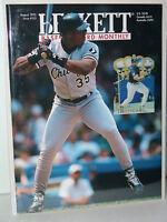 MLB Beckett August 1995 Issue #125 Frank Thomas Chicago White Sox - MINT!
